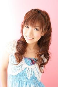 【二次会】 三つ編みカチューシャハーフアップ≪ichiko≫