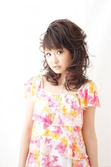 【パーティー】 小顔ハーフアップ ≪ichiko≫|ichiko  のヘアスタイル