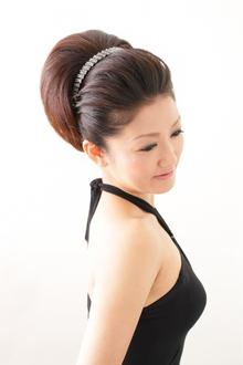 【結婚式】 品格漂うクラシカルスタイル ≪ichiko≫|ichiko  のヘアスタイル