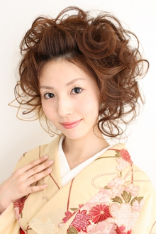 【和装】 成人式エアリールーズアップ ≪ichiko≫|ichiko  のヘアスタイル