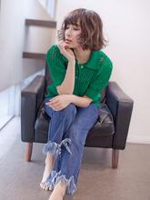 大人女性のショートボブ パーマ|CREER 塚口店のヘアスタイル
