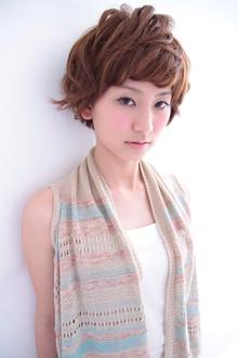 ピュア☆サマーガール|CREER 住吉店のヘアスタイル