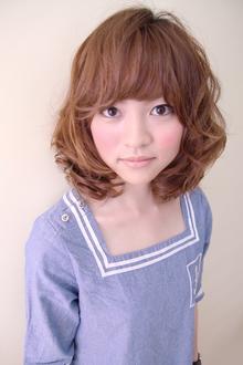 ボブ☆ふわカール|CREER 住吉店のヘアスタイル