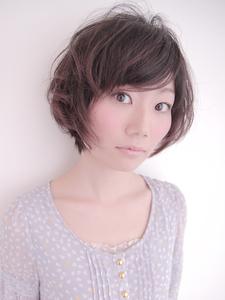 ふんわり☆やわらかショート|CREER 住吉店のヘアスタイル