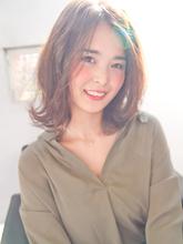 大人っぽい外ハネ ロブ!!|CREER 住吉店のヘアスタイル