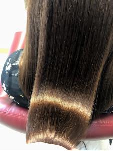 【妖精のヘアエステ】髪質改善と縮毛矯正がドッキング新しい質感|salon de QUEENのヘアスタイル