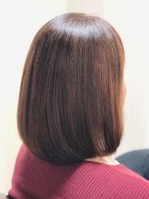 【女王のヘアエステ】カラーを続けて髪に艶がなくなってきた方|salon de QUEENのヘアスタイル