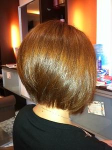 前下がりグラボブ|HAIR DRESSING Growthのヘアスタイル