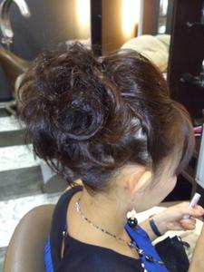 洋装アップ|HAIR DRESSING Growthのヘアスタイル
