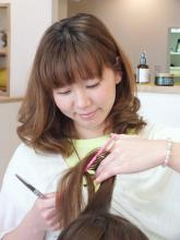hair garden cocosiaは、女性スタイリストのみ!
