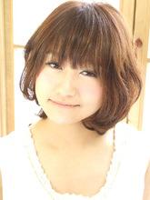 まる〜いショート|hair garden cocosiaのヘアスタイル