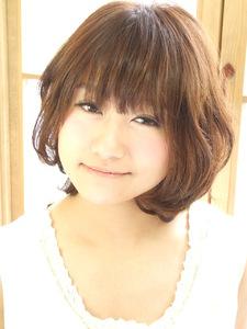 まる〜いショート hair garden cocosiaのヘアスタイル