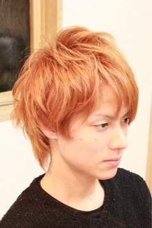 おしゃれショート hair garden cocosiaのヘアスタイル