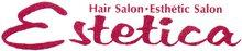 美容室 エステティカ 練馬高野台駅 | 傷んだ髪をツヤツヤ,サラサラにする美容室エステティカ  のロゴ