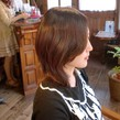 ミネラルイオン縮毛矯正 手ぐしで乾かすだけでまるで矯正していない様な自然なヘアスタイルに