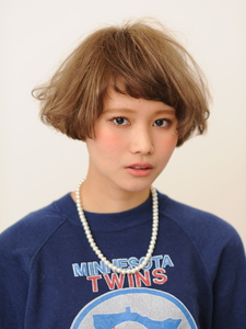 ふんわりやわらかドーリーボブ|stella 吉祥院のヘアスタイル