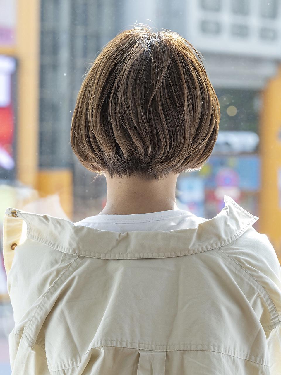ギザギザ前髪xボブ