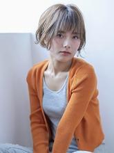 ハイトーンxカールのショートボブ|CLAN 寺島 寿則のヘアスタイル