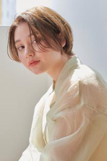小顔丸みショート|CLANのヘアスタイル
