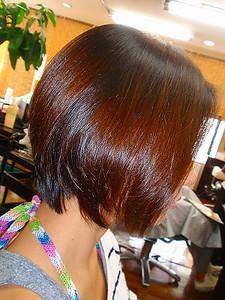 まんまるショートボブ♪|ヘアエステ アルファのヘアスタイル