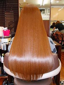 奇跡のロング!|ヘアエステ アルファのヘアスタイル