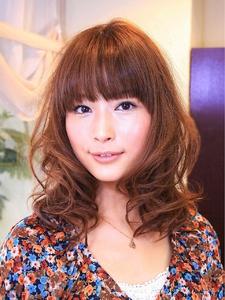 セミディ☆デコルテウェーブ|merci hair salonのヘアスタイル