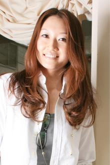 ロングカールスタイル|merci hair salonのヘアスタイル