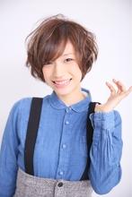 愛されショート|unpeu hair 桂店のヘアスタイル