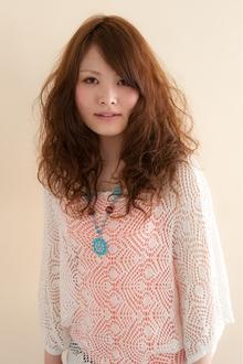 ボヘミアンガーリー unpeu hair 桂店のヘアスタイル