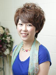 大人ショート unpeu hair 桂店のヘアスタイル