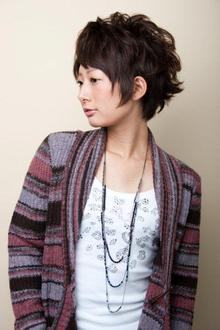 マニッシュショート|unpeu hair 六地蔵店のヘアスタイル