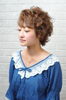 フェアリーショートヘア|unpeu hair 六地蔵店のヘアスタイル