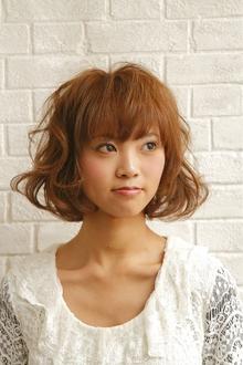 ふんわりボブ|unpeu hair 六地蔵店のヘアスタイル