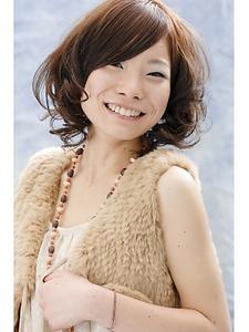 ナチュラルキュート|unpeu hair 西京極店のヘアスタイル