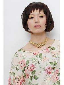 オシャレGirl'sボブ|unpeu hair 西京極店のヘアスタイル