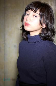媚びないウェーブで、目指すはハンサム美人!!|kisa  fataのヘアスタイル