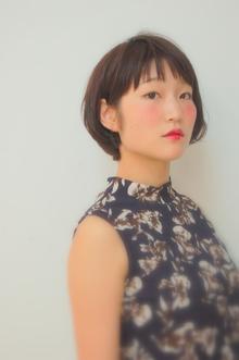 シンプルだけど可愛い、ツヤボブ☆|kisa  fataのヘアスタイル