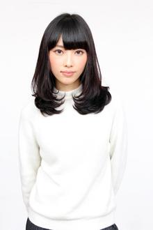 黒髪スタイル|Hokule'a(戸越銀座店)のヘアスタイル