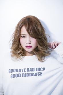Sweet&Spicesミディ☆エンジェルグラデーション|Hayato Tokyoのヘアスタイル