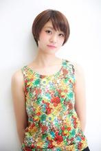 小顔フィットショートボブ Hayato Tokyo MASA のヘアスタイル