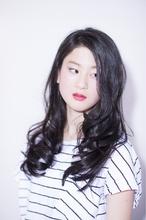 ふんわりウェットウェーブロング|Hayato Tokyo Taichi のヘアスタイル