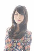 ヌーディ—カラ—×大人かわいいフェミニンロング