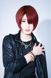 NEO RED EDGEクールショートエッジィボブTo be 小顔|Hayato Tokyoのヘアスタイル