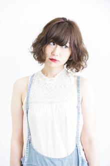 愛されふわふわベアーカールボブ|Hayato Tokyoのヘアスタイル