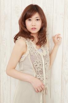 ツヤ感たっぷりカール|Hayato Tokyoのヘアスタイル