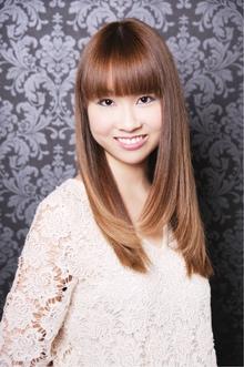 グラデーションストレート|Hayato Tokyoのヘアスタイル