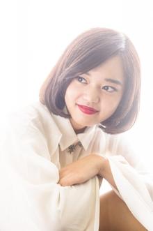 ふんわりガーリーボブ|Hayato Tokyoのヘアスタイル