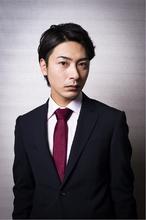 英国風七三分け|Hayato Tokyo KOKI のメンズヘアスタイル