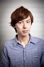 ゆれる、きれいめ2ブロック|Hayato Tokyo KOKI のメンズヘアスタイル