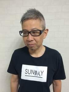 直毛でも動くベリーショートスタイル!|T's gallery - for men's -のヘアスタイル